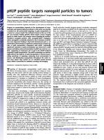 pHLIP-peptide-targets