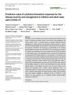 Predictive-value-of-cytokine-chemokine