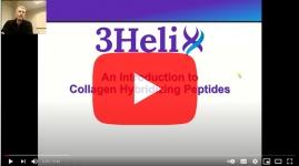 3Helix-collagen-hybridizing-peptides